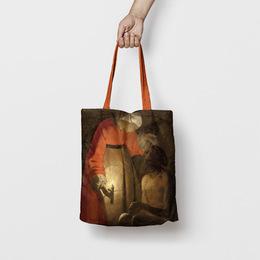 Shopping Bag Giobbe deriso dalla moglie