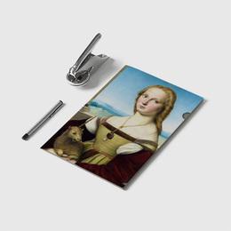 Folder Dama con Licorno