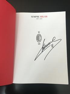 Sempre Milan 1899-2019 Copia Autografata