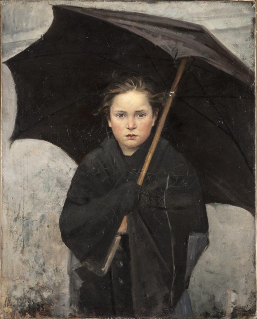 Maria Bashkirtseva Ombrello, 1883