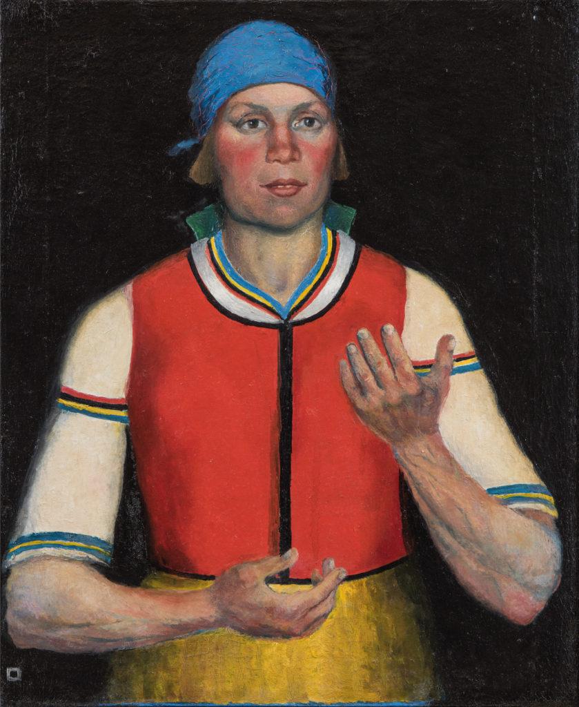 Kazimir Malevich Operaia, 1933