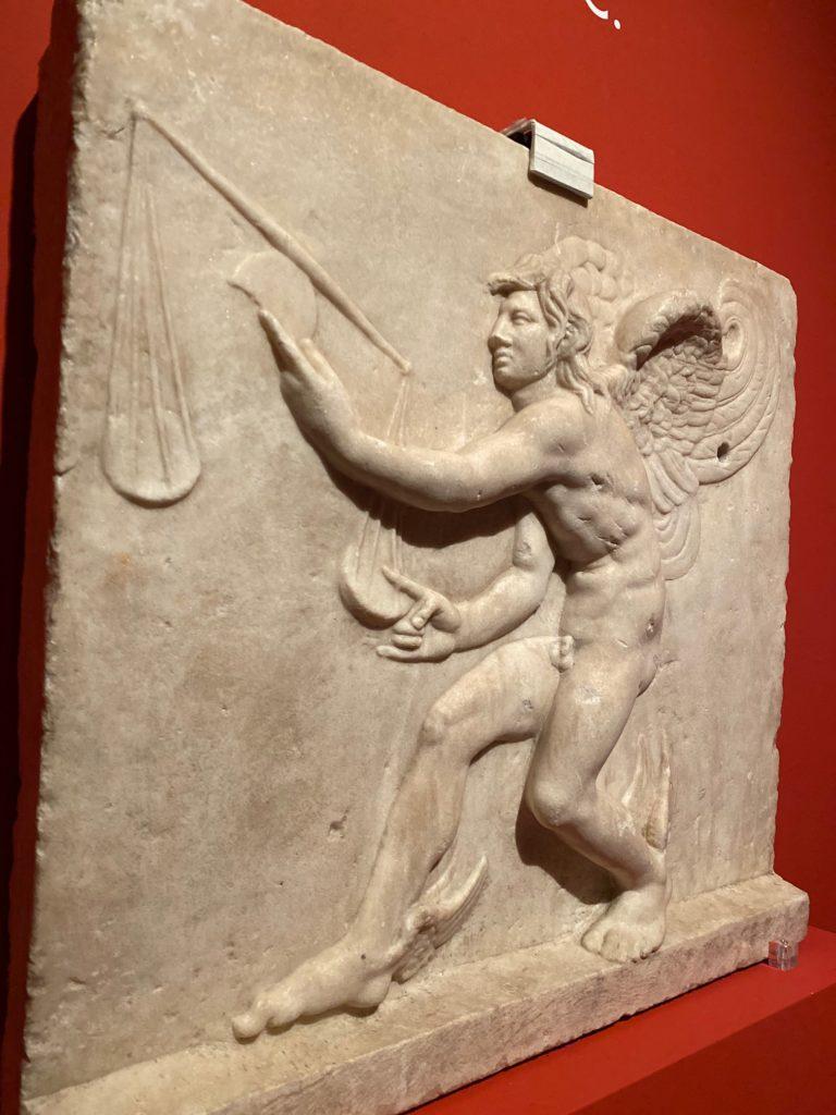 Copia romana - Personificazione di Kairos/Tempo